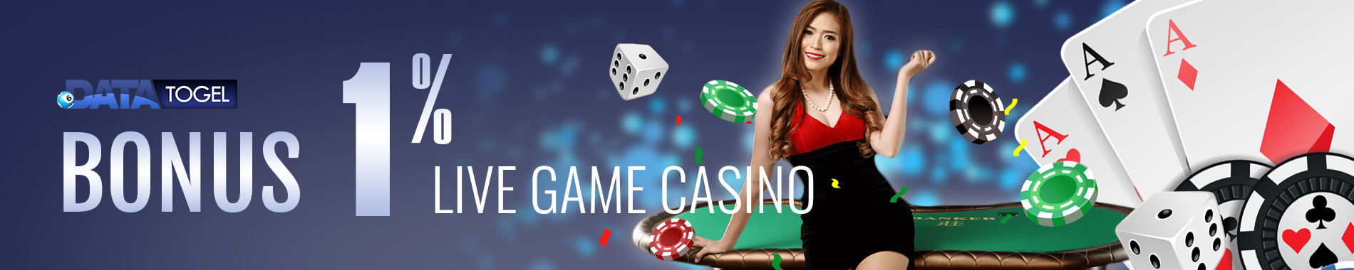 DATATOGEL BONUS MINGGUAN LIVE CASINO